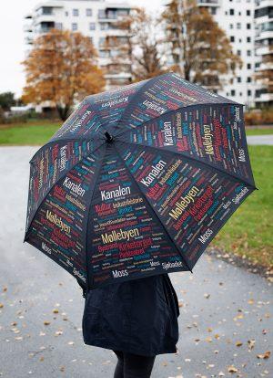 Mosseparaplyen. Paraplyen for Moss og Rygge