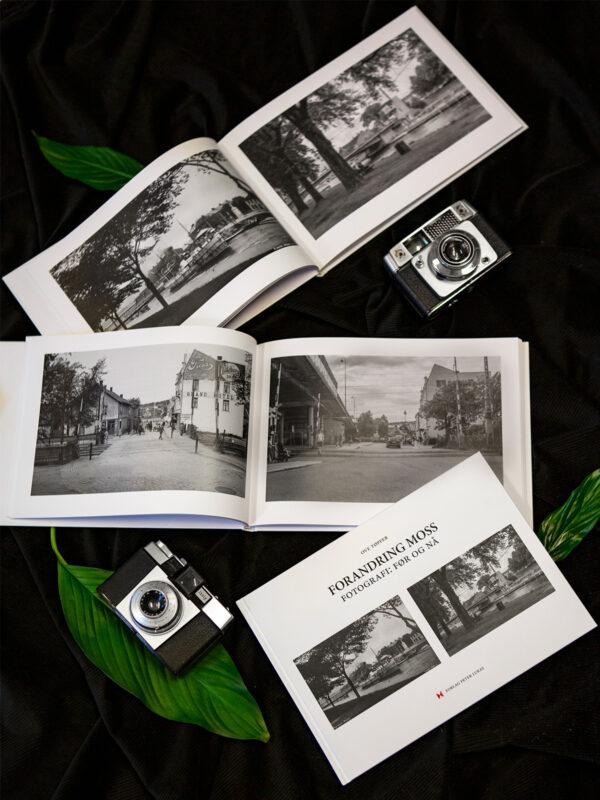 Forandring: Moss. En visuell bok om Moss før og nå